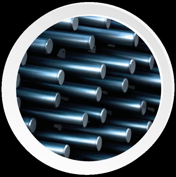 barras cromadas para cilindros hidráulicos y neumáticos